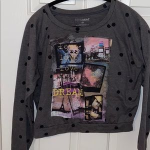 Stranded Crop long sleeve size XS NWOT
